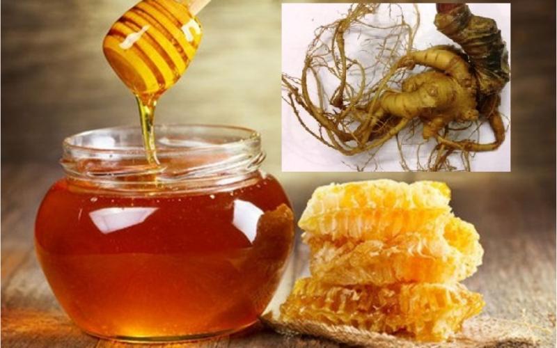 Sâm ngọc linh mật ong