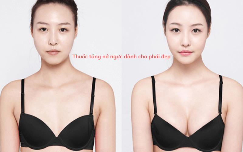 thuốc tăng nở ngực dành cho phái đẹp